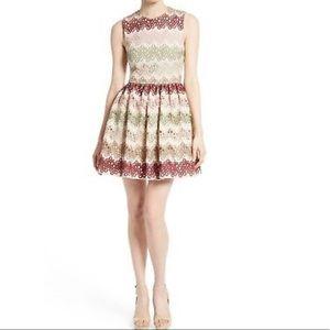 Alice + Olivia Joyce Lace Party Dress
